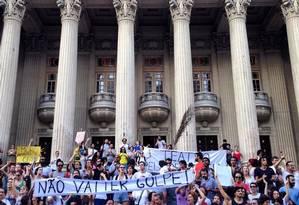 Nesta segunda. Encontro 'Teatro pela democracia' Foto: Divulgação
