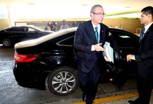 O presidente da Câmara Eduardo Cunha(PMDB-RJ) Foto: Ailton de Freitas / Agência O Globo 21/03/2016