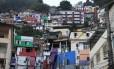 Comunidade do Santa Marta, em Botafogo, onde foi instalada a primeira UPP