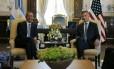 Macri e Obama se reúnem na Casa Rosada