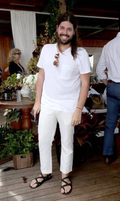 O estilista Thomaz Azulay Eduardo Garcia Uzal