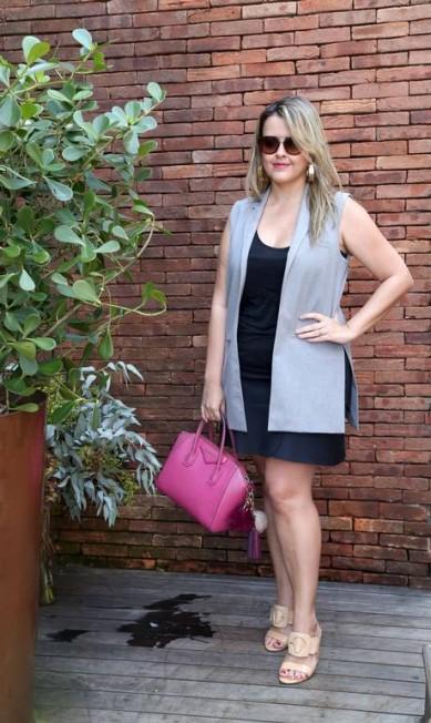 A blogueira Thereza Chammas Eduardo Garcia Uzal