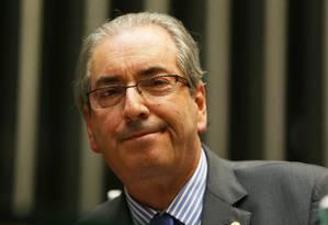Presidente da Câmara dos Deputados, Eduardo Cunha Foto: Ailton de Freitas / Agência O Globo