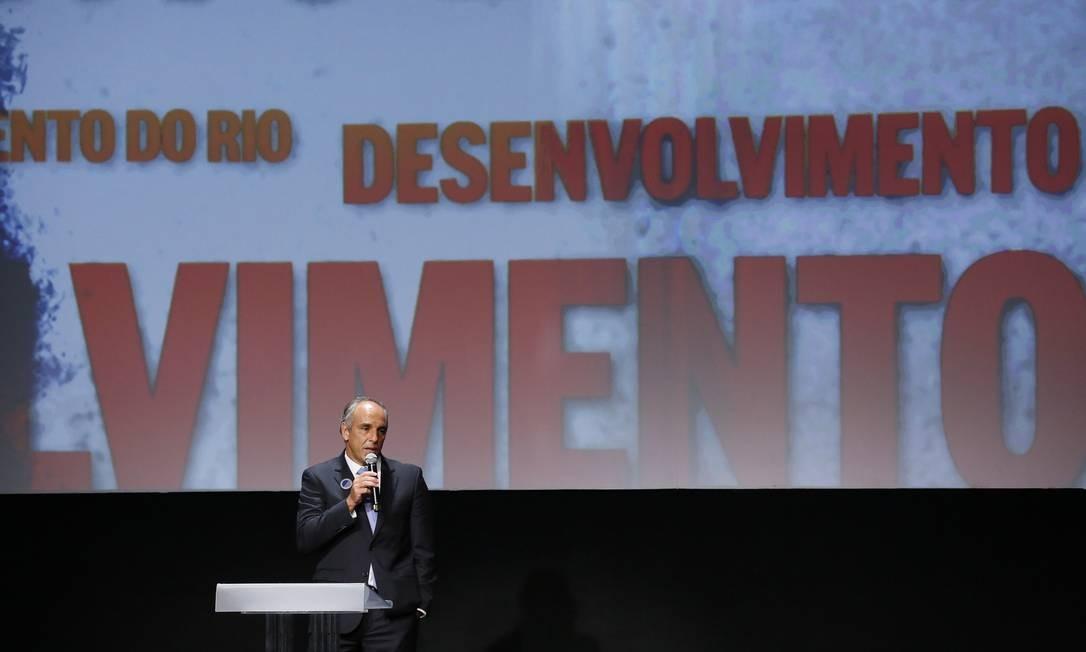 Presidente da Invepar, Gustavo Rocha foi o vencedor da categoria Desenvolvimento do Rio Foto: Pablo Jacob