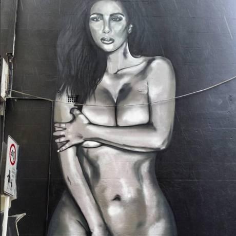 Mural em Sydney de autoria de lushsux Foto: Reprodução do Instagram/lushsux