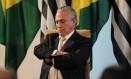 O vice-presidente Michel Temer Foto: Michel Filho / Agência O Globo