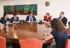 Dilma concede entrevista a jornais estrangeiros Foto: Roberto Stuckert Filho/ Divulgação Presidência