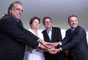 PMDB do Rio decide desembarcar do governo Dilma Foto: Gustavo Miranda 08/10/2012 / Agência O Globo