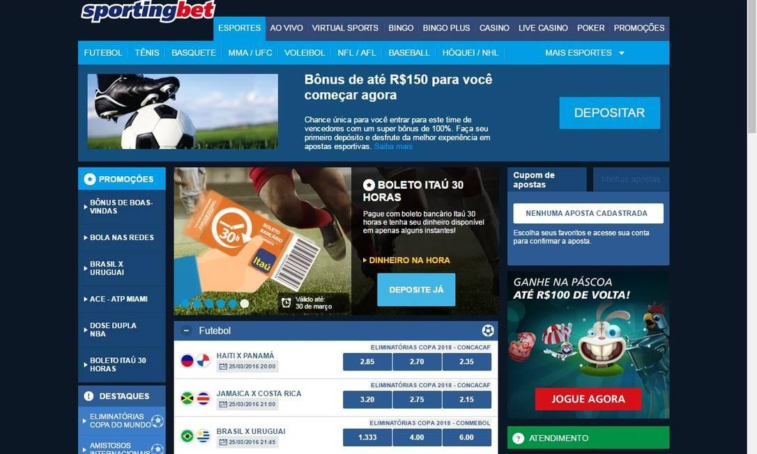 O drible eletrônico dos sites de apostas na lei brasileira - Jornal O Globo c1d7ecf87fdc0