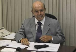Francisco Dornelles assume com compromisso de manter diretrizes acertadas por Pezão Foto: Givaldo Barbosa 16-12-2014 / Agência O Globo