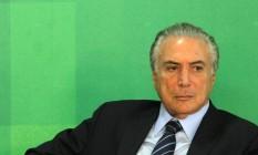 O vice-presidente da República Michel Temer Foto: Givaldo Barbosa / Agência O Globo / 02-03-2016