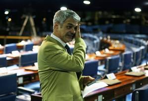 Humberto Costa (PT-PE), líder do partido no Senado, em foto de arquivo Foto: Ailton de Freitas / Agência O Globo