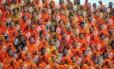 Monges budistas rezam na Tailândia