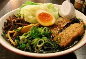 O ramen é um prato típico japonês Foto: Wikimedia