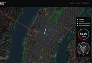Broadway, no coração de Nova York, os sons das pessoas e do trânsito dominam o ambiente Foto: Reprodução
