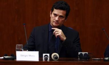 O juiz federal Sérgio Moro, responsável pelos processos da Lava-Jato Foto: Edilson Dantas/ Agência O Globo 29/03/2016