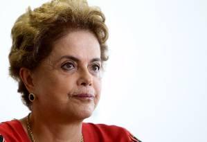 A presidente Dilma Rousseff Foto: Adriano Machado / Reuters 29/03/2016
