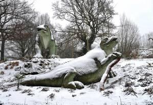 Inverno encerrou domínio dos dinossauros, que habitaram o planeta por 150 milhões de anos Foto: Lynn Hilton/Alamy Stock Photo