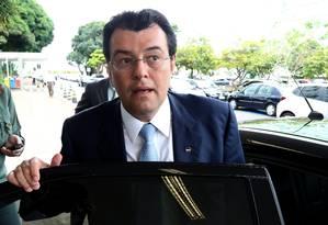 O ministro Eduardo Braga Foto: Ailton de Freitas / Agência O Globo / 26-1-2015