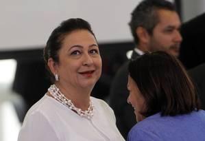 A ministra da Agricultura, Kátia Abreu Foto: Givaldo Barbosa / Agência O Globo 30/03/2016