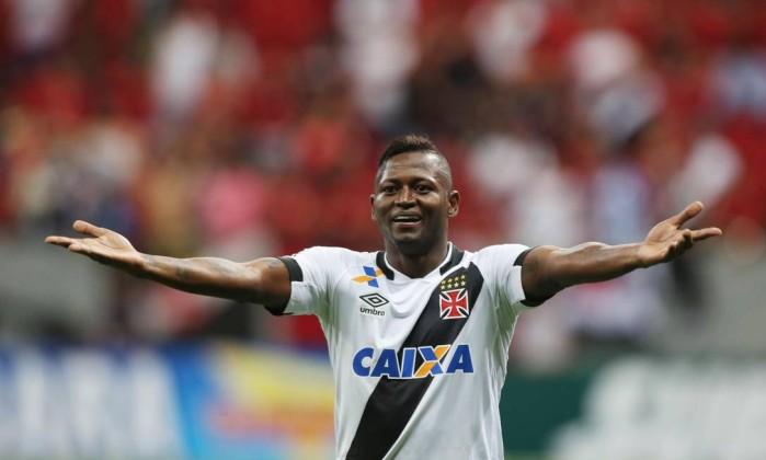 Riascos fez o gol do empate do Vasco diante do Flamengo f1c25673ac38d