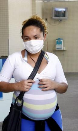 Grávidas estão entre o grupo de risco Foto: Pablo Jacob 05-08-2009 / Agência O Globo