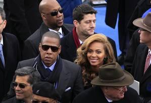 Jay-Z e Beyonce: casal ajudou a turbinar campanha do Tidal Foto: Scott Eells / Bloomberg