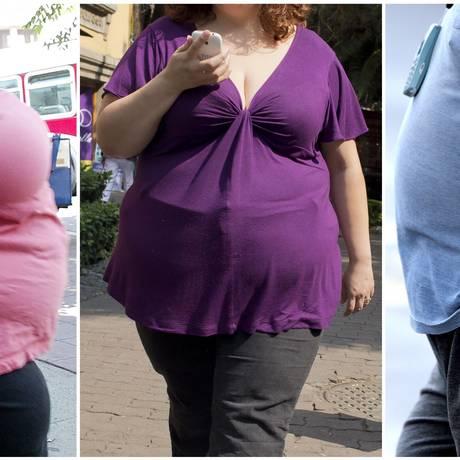 Obesos já são 640 milhões no planeta Foto: ROBYN BECK;RONALDO SCHEMIDT;PAUL ELLIS / AFP
