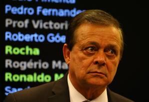 O relator da Comissão do Impeachment Jovair Arantes (PTB-GO) Foto: Ailton de Freitas / Agência O Globo