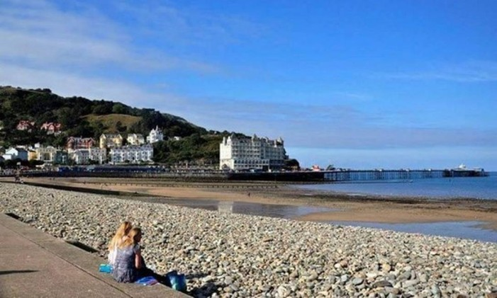 Llandudno, País de Gales Foto: @raisousa51 / Instagram