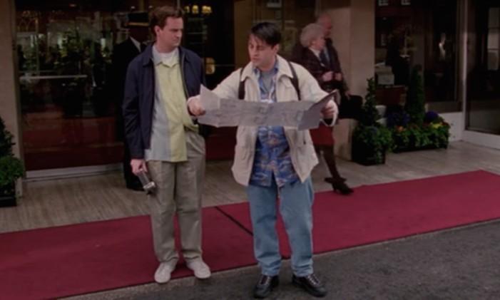Cena de Friends Foto: Reprodução