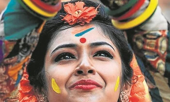 Calcutá, Índia Foto: Dibyangshu Sarkar/AFP/23-03-2016