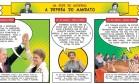 A semana da presidente Dilma em quadrinhos Foto: O Globo