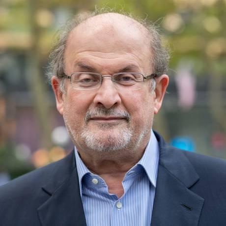 O escritor Salman Rushdie Foto: Sara Krulwich / The New York Times