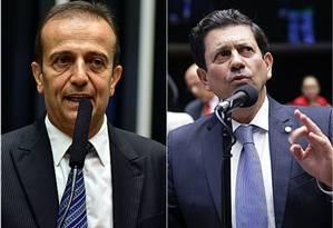 Miguel Haddad e Otavio Leito, parlamentares do PSDB, vão apresentar requerimento Foto: Câmara