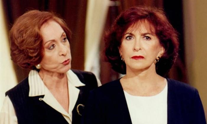 Aracy Balabanian e Tereza Rachel em 'A próxima vítima' Foto: Reprodução