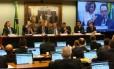 Comissão do impeachment: ministro Nelson Barbosa falou a parlamentares na quinta-feira, dia 31 de março