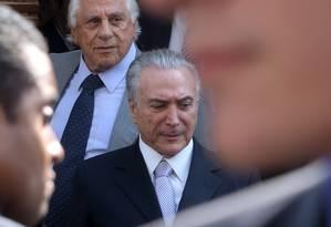 O vice-presidente Michel Temer Foto: Marcos Alves / Agência O Globo / 31-3-2016