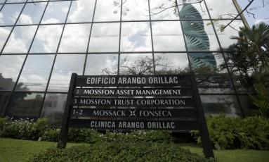 Sede da Mossack Fonseca no Panamá Foto: Arnulfo Franco / AP