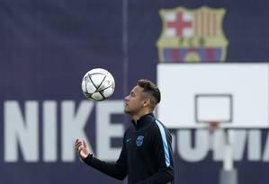 As atitudes de Neymar têm incomodado a CBF Foto: ALBERT GEA / REUTERS