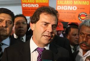 O deputado Paulinho da Força (SD-SP) Foto: Givaldo Barbosa / Agência O Globo / 04-11-2010