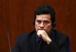 O juiz Sérgio Moro: explicações ao STF Foto: Edilson Dantas / Agência O Globo / 29-3-2016