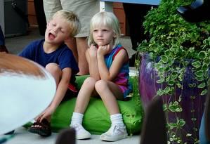 Crianças introspectivas podem ter traços de ansiedade Foto: Arquivo