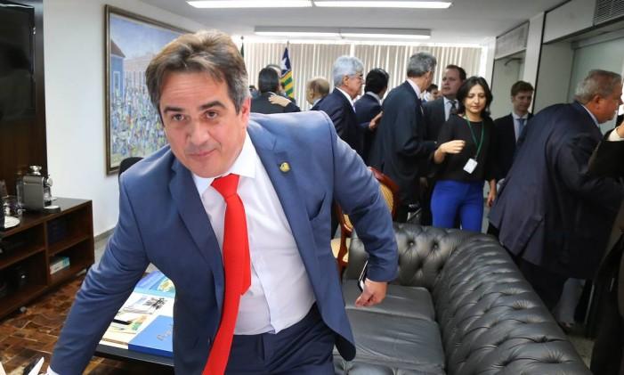 O presidente nacional do PP, senador Ciro Nogueira (PI) Foto: Ailton de Freitas / Agência O Globo / 30-03-2016