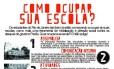 Manual de ocupação de escolas fornecido por ONG aos estudantes do Rio