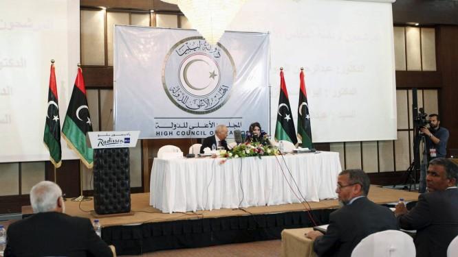 Conselho de Estado escolhe representantes em Trípoli Foto: ISMAIL ZITOUNY / REUTERS