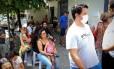 Esta semana, fila em busca por vacina chegou a duas horas de espera em São Paulo