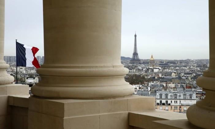 Vista de Paris a partir da cúpula do Panthéon Foto: BENOIT TESSIER/REUTERS