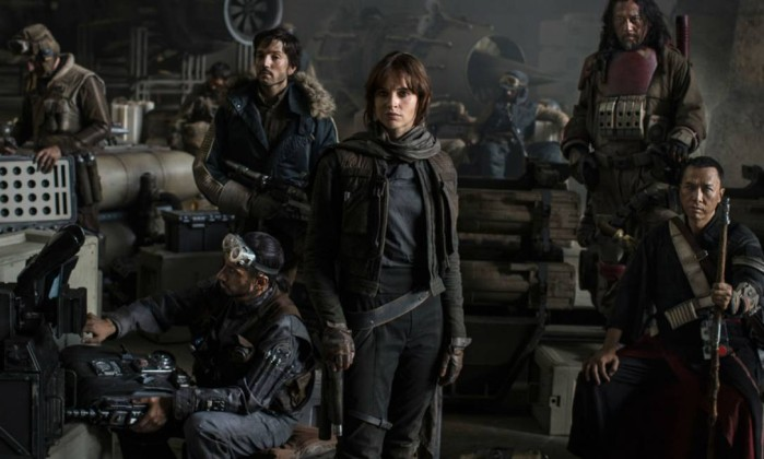 Parte do elenco de 'Rogue One: A Star Wars Story' Foto: Divulgação