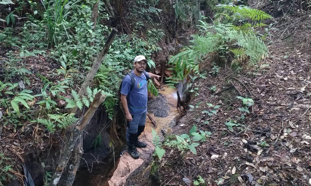 Nascente do Rio Paraguaçu, que fornece 60% da água de Salvador, começa numa poça Ana Lucia Azevedo